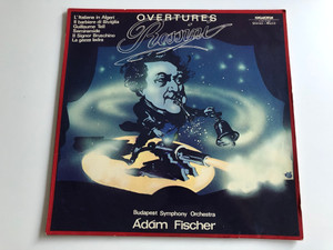 Overtures - Rossini / Conducted: Ádám Fischer / Budapest Symphony Orchestra / HUNGAROTON LP STEREO - MONO / SLPX 11932