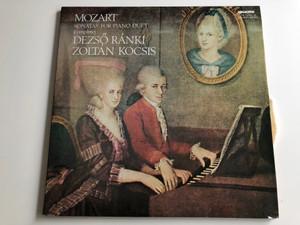 Mozart - Sonatas For Piano Duet (Complete) / Dezső Ránki, Zoltán Kocsis / HUNGAROTON 2X LP STEREO - MONO / SLPX 11794-95