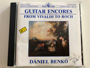 Dániel Benkő - Guitar Encores From Vivaldi to Roch / Hungaroton White Label Audio CD 1989 / HRC 116 (HRC116)Dániel Benkő - Guitar Encores From Vivaldi to Roch / Hungaroton White Label Audio CD 1989 / HRC 116 (HRC116)