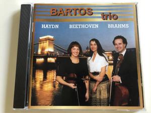 Bartos Trio - Haydn, Beethoven, Brahms / Audio CD 1997 / Galina Danilova violin, Csaba Bartos violoncello, Irina Ivanitskaia piano (5998540700984)