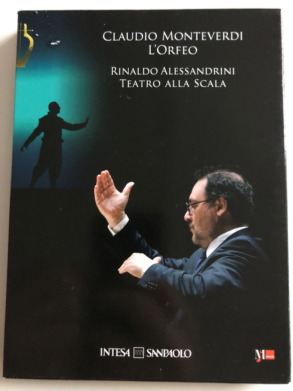 Claudio Monteverdi - L'Orfeo CD+DVD 2010 / Conducted by Rinaldo Alessandrini / Teatro Alla Scala / Directed by Robert Wilson (L'orfeoDVD+CD)