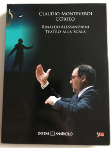 Claudio Monteverdi - L'Orfeo CD+DVD 2010 / Conducted by Rinaldo Alessandrini / Teatro Alla Scala / Directed by Robert Wilson (L'orfeoDVD+CD)