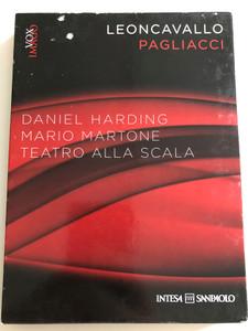 Leoncavallo - Pagliacci DVD + CD 2011 / Directed by Daniel Harding / Mario Martone / Teatro Alla Scala / Pagliacci Senza Confii con Philip Gossett / Pagliacci - Selezione directed by Emenuele Garofalo (5998282108925)