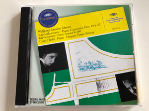 Wolfgang Amadeus Mozart - Klavierkonzerte - Piano Concertos Nos . 19 & 27 / Clara Haskil piano / Conducted by Ferenc Fricsay / Audio CD 2016 (028944972221)