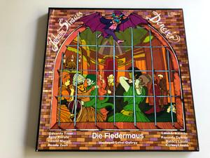 Johann Strauss - Denevér / Die Fledermaus / Conducted: Lehel György / QUALITON 2X LP STEREO / LPX 16558-59