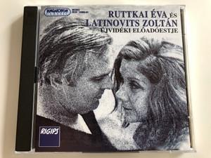 Ruttkai Éva és Latinovits Zoltán Újvidéki előadóestje / Hungaroton Classic Audio CD 1995 / HCD 14080-81 / 2x Audio CD (5991811408022)