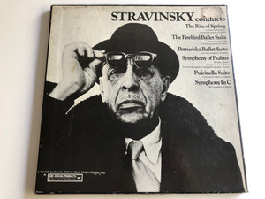 Stravinsky Conducts / Columbia Symphony Orchestra / CBC Symphony Orchestra / The Festival Singers Of Toronto / CBS 2X LP / WM 39