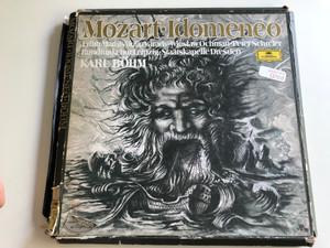 Mozart– Idomeneo / Conducted: Karl Böhm / Edith Mathis, Julia Várady, Wiesław Ochman, Peter Schreier / Deutsche Grammophon 4X LP / 2711 023