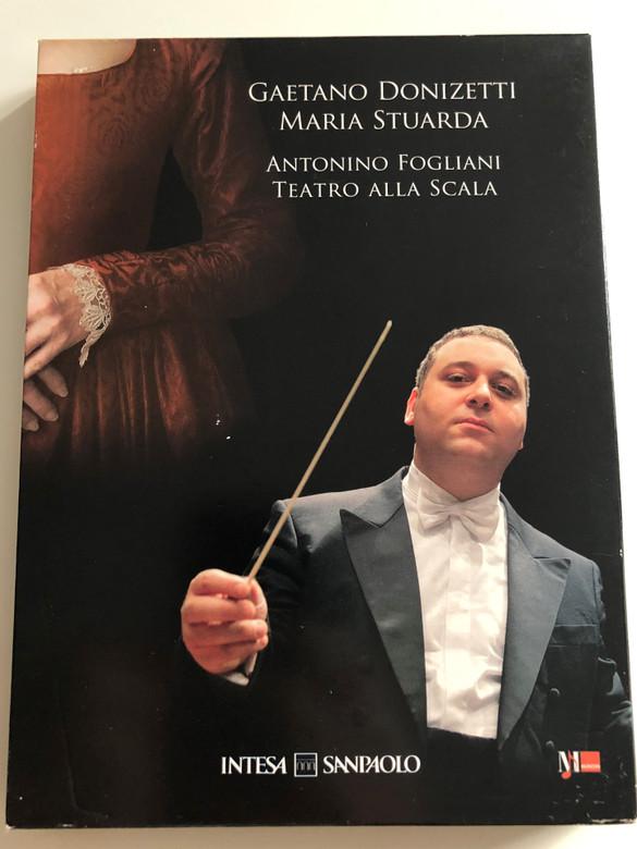 Gaetano Donizetti - Maria Stuarda Highlights DVD + CD / Conducted by Antonio Fogliani / Teatro Alla Scala / Live Recording / Vox Imago (G.DonizettiDVD+CD)