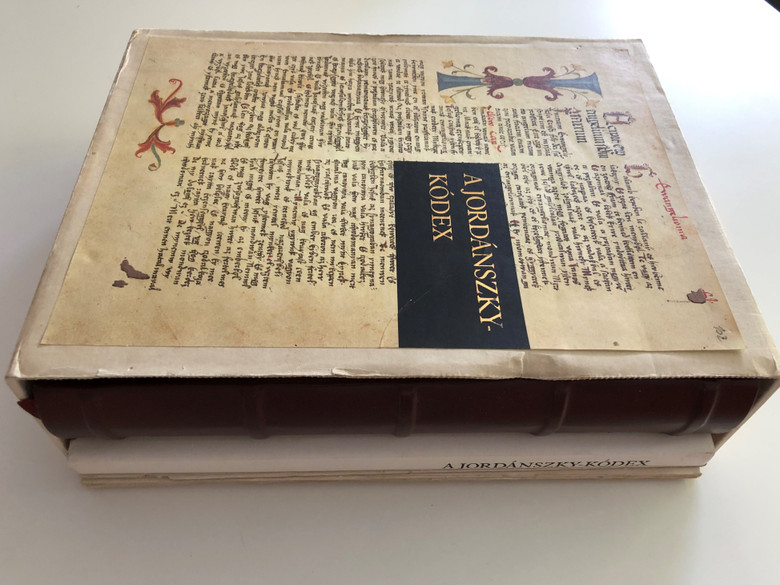 A Jordánszky-kódex 1516-1519 4 Book SET / Hungarian codex Reprint containing Bible translation from the beginning of the 16th century / Transcription of the codex, reading help and essay by Csaba Csapodi / Helikon kiadó (9632076044)