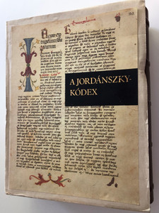 A Jordánszky-kódex 1516-1519 4 Book SET / Hungarian codex Reprint containing Bible translation from the beginning of the 16th century / Transcription of the codex, reading help and essay by Csaba Csapodi / Helikon kiadó (9632076044)