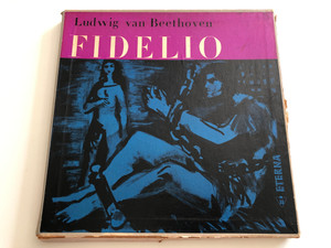 Ludwig van Beethoven ‎– Fidelio / Conducted:Ferenc Fricsay / ETERNA ‎3X LP / 8 20 121-123