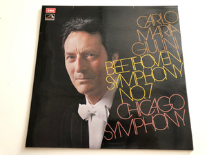 Carlo Maria Giulini / Beethoven‎ – Symphony No. 7 / Chicago Symphony / His Master's Voice ‎LP STEREO / ASD 2737