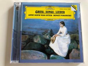 Grieg: Songs (Lieder) / Anne Sofie Von Otter mezzo-soprano,  Bengt Forsberg piano / Deutsche Grammophon Audio CD 1993
