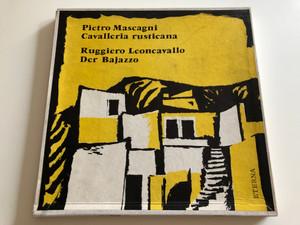 Pietro Mascagni – Cavalleria Rusticana, Ruggiero Leoncavallo - Der Bajazzo / Conducted: Artur Rother / ETERNA 3X LP / 820 245-247