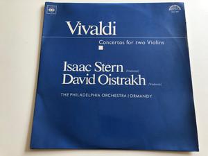 Vivaldi: Concertos For Two Violins / Isaac Stern, David Oistrakh / The Philadelphia Orchestra / SUPRAPHON LP STEREO - MONO / SUA 10932, SUA ST 50932