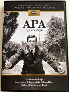 Apa (Egy hit naplója) DVD 1966 Dad (diary of faith) / Directed & Written by Szabó István / Starring: Bálint András, Sólyom Kati, Gábor Miklós, Tolnay Klári, Erdély Dániel, Ráthonyi Zsuzsa (5999884681083)