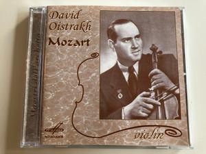 David Oistrakh violin - Mozart / Maestri dell' archetto / Audio CD 2005 / Мелодия - Mel CD 10 00230 (4600317002306)