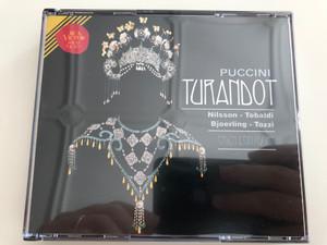 Puccini - Turandot / Nilsson, Tebaldi, Bjoerling, Tozzi / Erich Leinsdorf / 2 CD / RCA Red Seal / Audio CD 1995 (8014394401215)