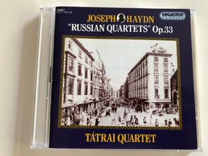"Joseph Haydn - ""Russian Quartets"" Op. 33 / Tátrai Quartet / Hungaroton Classic Audio CD 1994 / HCD 11887-88 / 2 CD (5991811188726)"