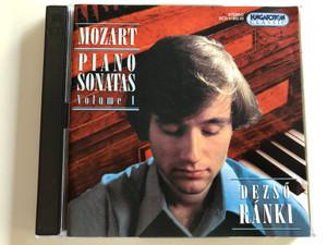 Mozart - Piano Sonatas Volume 1 / Dezső Ránki, piano / Hungaroton Classic Audio CD 1998 / HCD 31802-03 / 2 CD (5991813180223)
