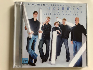 Schumann-Brahms - Piano Quintets / Artemis Quartet / Leif Ove Andsnes piano / Virgin Classics Audio CD 2007 / EMI (094639514328)