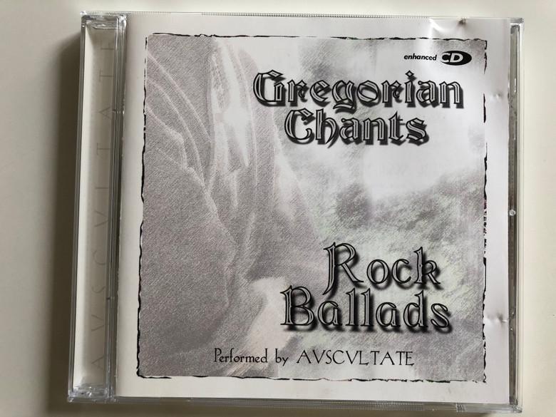 Gregorian Chants - Rock Ballads / Performed by AVSCVLTATE / Enhanced CD / Audio CD 2001 / Elap Music (5706238308424)