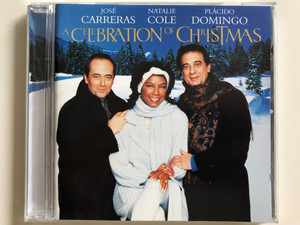 A Celebration of Christmas - Live from Vienna / José Carreras, Natalie Cole, Plácido Domingo / Audio CD 1996 / Erato - Warner (706301464021)