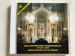 Zsidó Kántorművészeti Magyarországon - Jewish Cantorial Art of Hungary / Audio CD 1992 / Duo-Sound JCCD 101 (JCCD 101 )