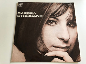 Barbra Streisand / Made in Czechoslovakia / CBS, SUPRAPHON LP / 1 13 0796