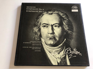 Beethoven - Symphony No. 9, Symphony No. 1 / Leipzig Radio Symphony Orchestra / Abendroth / Czech Philharmonic Orchestra / Ančerl ‎/ SUPRAPHON 2X LP / SUB 10255/6
