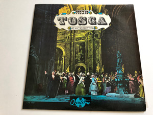 Puccini ‎– Tosca - Excerpts / Conducted: Miklós Erdélyi / Chorus Of The Hungarian State Opera House / QUALITON LP / LPX 1157