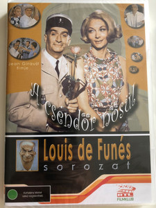 Le gendarme se marie DVD 1968 A csendőr nősül (The Gendarme Gets Married) / Directed by Jean Girault / Starring: Louis de Funès, Claude Gensac, Michel Galabru / Louis de Funés sorozat Disc 2 (5999545581349)