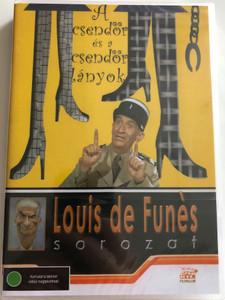 Le Gendarme et les Gendarmettes DVD 1982 A csendőr és a csendőrlányok (The Gendarme and the Gendarmettes) / Directed by Tony Aboyantz, Jean Girault / Starring: Louis de Funès, Michel Galabru, Claude Gensac, Maurice Risch (5999545581356)