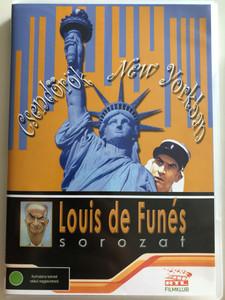 Le Gendarme à New York DVD 1965 A csendőr New Yorkban (Gendarme in New York) / Directed by Jean Girault / Starring: Louis de Funès, Geneviève Grad, Michel Galabru, Jean Lefebvre, Christian Marin (5999545581318)