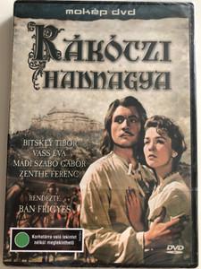Rákóczi Hadnagya DVD 1953 / Directed by Bán Frigyes / Starring: Bitskey Tibor, Vass Éva, Gyárfás Endre, Zenthe Ferenc, Pethes Ferenc / Hungarian Histroical Drama (5996357312277)