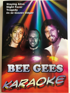 Bee Gees KARAOKE DVD / Staying Alive, Night Fever, Tragedy és az összes sláger / Sing the greatest hits! (5999883049488)