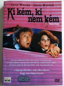 Hanky Panky DVD 1982 Ki kém, ki nem kém / Directed by Sidney Poitier / Starring: Gene Wilder, Gilda Radner, Kathleen Quinlan, Richard Widmark, Johnny Brown (5999010446524)