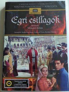 Eclipse of the crescent moon DVD 1968 Egri csillagok / Directed by Várkonyi Zoltán / Starring: Sinkovits Imre, Kovács István, Venczel Vera / Hungarian Classic film / Magyar nemzeti filmarchívum (5999884681038)