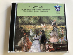 A. Vivaldi / Die Vier Jahreszeiten (The Four Seasons), Gloria, Stabat Mater / Concerto Royale / 3x Audio CD 2001 / 3CD (4011222062505)