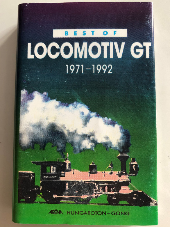 Best Of Locomotiv GT 1971 - 1992 / Hungaroton-Gong ‎CASSETTE