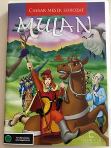Mulan DVD 1998 / Caesar Mesék Sorozat / Directed by Barry Cook, Tony Bancroft / Starring: Ming-Na Wen, Eddie Murphy, BD Wong, Miguel Ferrer, June Foray (5999882974392)
