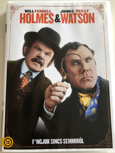 Holmes & Watson DVD 2018 / Directed by Etan Cohen / Starring: Will Ferrell , John C. Reilly, Rebecca Hall , Rob Brydon, Steve Coogan (5948221492127)