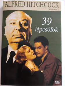 The 39 Steps DVD 1935 39 lépcsőfok / Directed by Alfred Hitchcock / Starring: Robert Donat, Madeleine Carroll, Lucie Mannheim (5999881767193)
