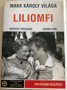 Liliomfi DVD 1954 / Directed by Makk Károly / Starring: Krencsey Marianne, Darvas Iván / Digitally Remastered (5998133179838)