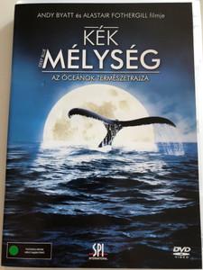 """Deep Blue DVD 2003 Kék Mélység / Az Óceánok Természetrajza / Directed by Andy Blatt, Alastair Fothergill / Based on TV Series """"The Blue Planet"""" (5999544155442)"""