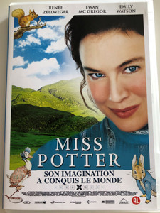 Miss Potter DVD 2006 / Directed by Chris Noonan / Starring: Renée Zellweger, Lloyd Owen, Ewan McGregor, Bill Paterson, Emily Watson (5414474352650)