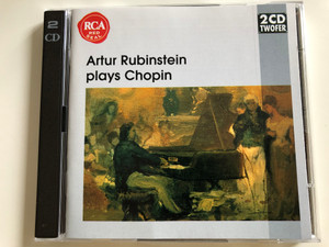 Artur Rubinstein plays Chopin / Symphony of the Air * Alfred Wallenstein / 2CD Audio CD / RCA Read Seal (743213417523)