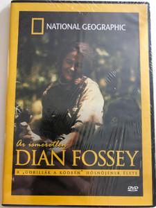 """Dian Fossey DVD 2009 Az ismeretlen Dian Fossey / National Geographic / """"A Gorillák a ködben"""" Hősnőjének élete / Produced & Directed by Jane-Marie Franklyn (5999540361717)"""