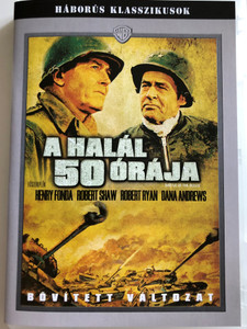 Battle of the Bulge DVD A halál 50 órája / Directed by Ken Annakin / Starring: Henry Fonda, Robert Shaw, Robert Ryan, Dana Andrews / Háborús Klasszikusok (5996514003222)